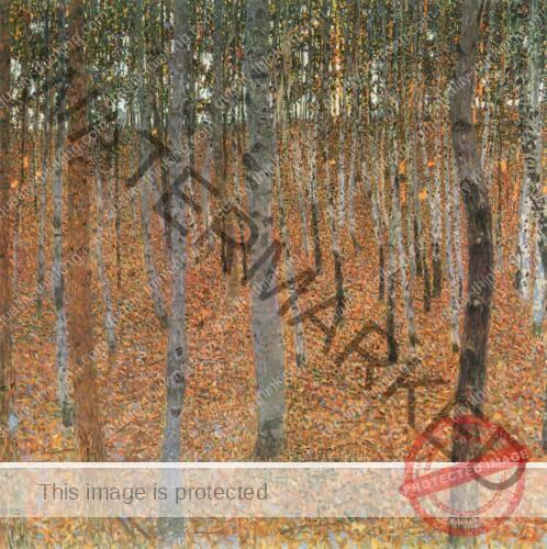 Gustav Klimt - Beech Grove 1