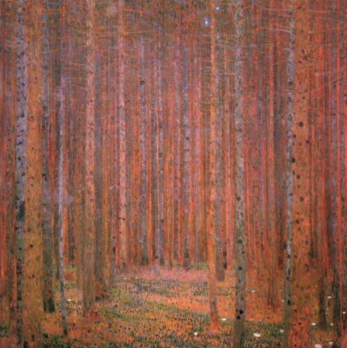 Gustav Klimt - Fir Forest 1