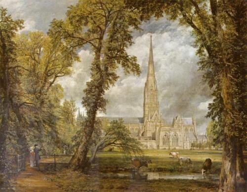 Salisbury Cathedral 1823