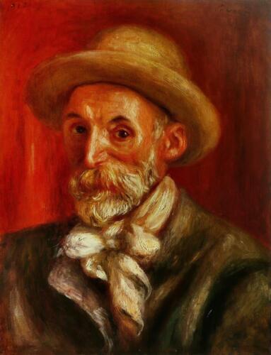 Pierre Auguste Renoir - Self-portrait