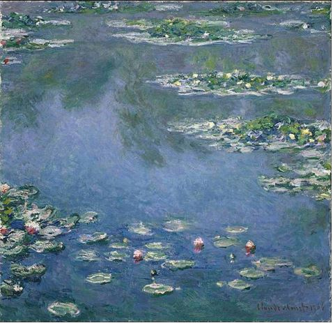 Water Lilies Chicago Museum
