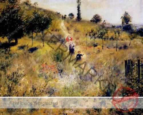 Path Leading Through Tall Grass - 1877