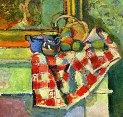 still-life-with-a-checked-tablecloth